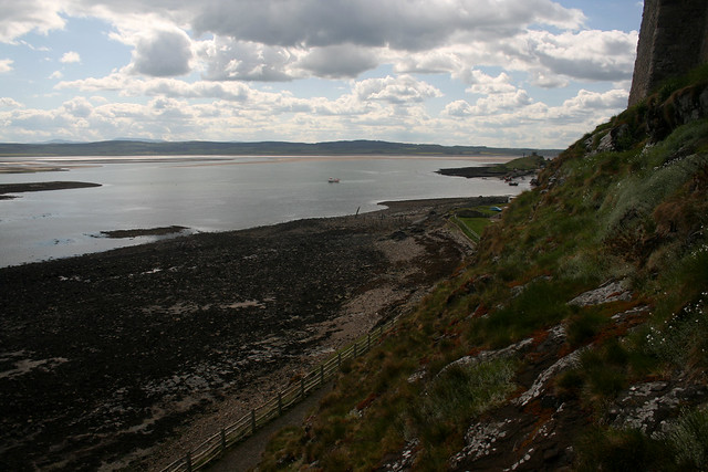 View from Lindisfarne Castle