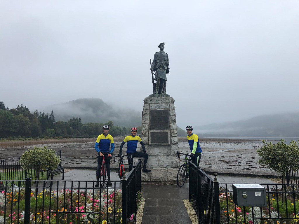 Me, Mike and Darren about to leave Inveraray