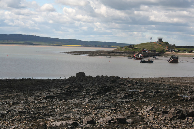 View from Holy Island
