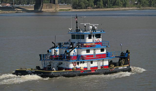 Pamela Ann. Pushboat. New Orleans.