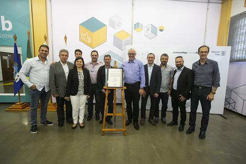 Inauguração do Fab Lab em São José do Pinhais