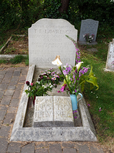 The Grave of T E Lawrence