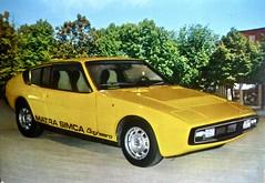 1973-1976 MATRA-Simca Bagheera Coup� S�rie 1