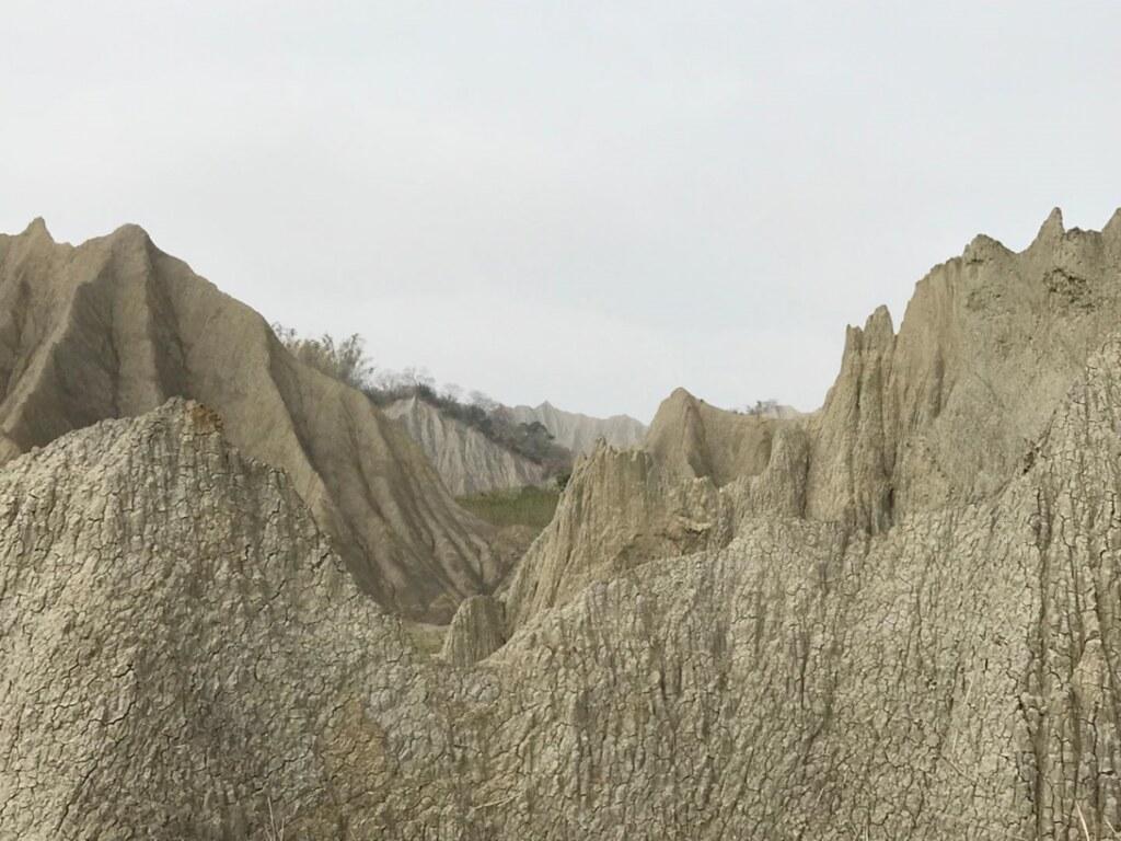 圖 2. 綿延不斷的泥岩
