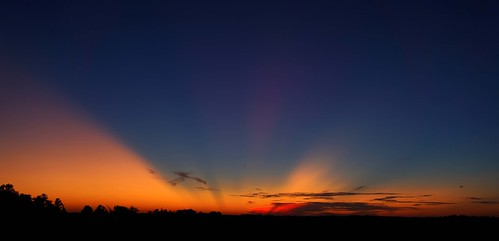 Post-sunset show