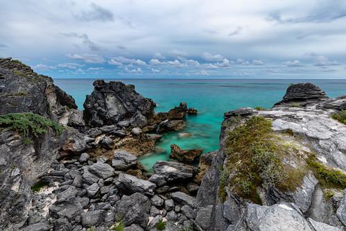 bermuda seascape beach seashore atlanticocean