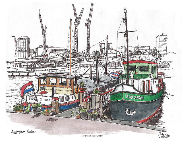 Amsterdam Harbor sm