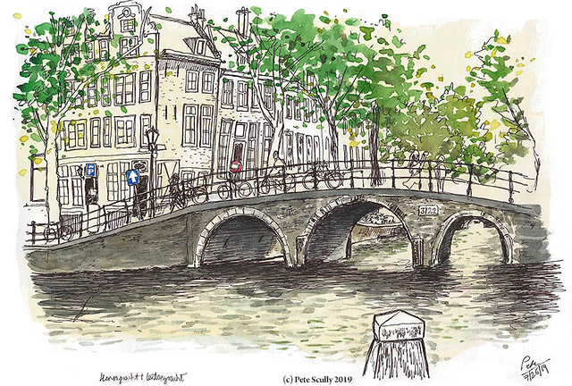 Amsterdam Herengracht bridge sm