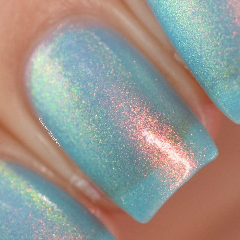 Bees Knees Lacquer The Sea Whip swatch