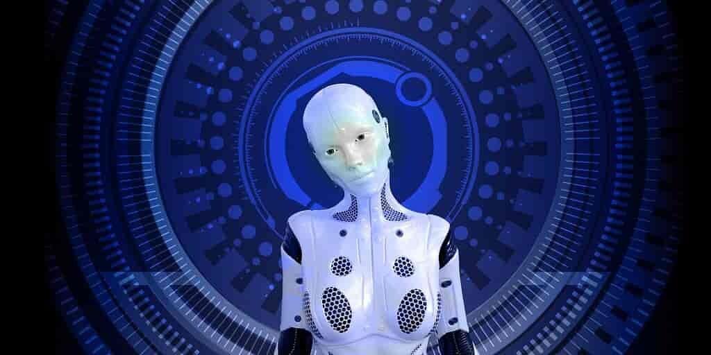 Regarder un robot fait de robots se déplacer