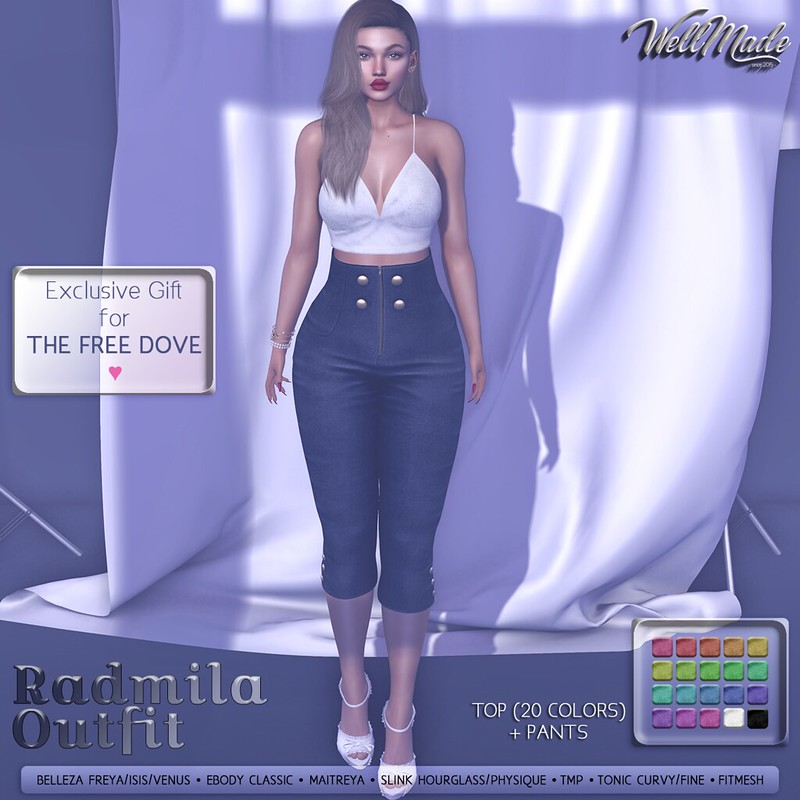 [WellMade] Radmila Outfit