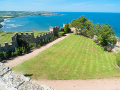 View from the Raven Hall Country House Hotel, Ravenscar, North Yorkshire