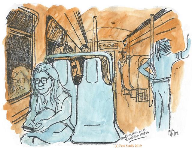 Brussels Metro Sketch sm
