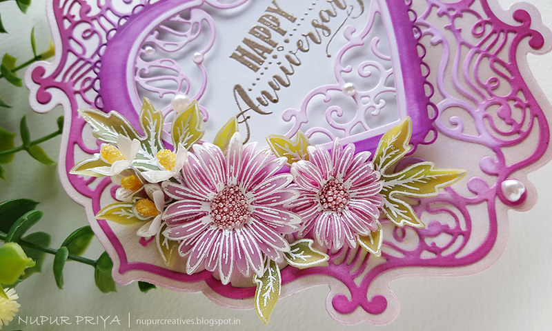 Easy Shaped Card with Asters_Nupur Priya_04