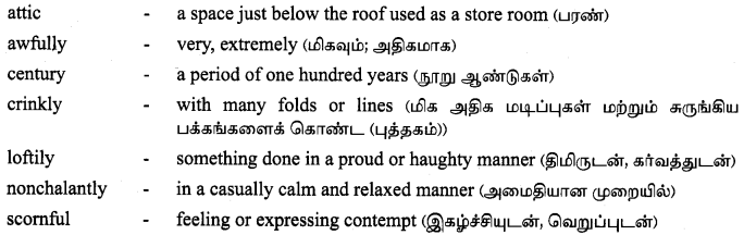 Tamilnadu Board Class 9 English Solutions Supplementary Chapter 2 The Fun They Had -3