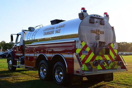 rear view fire truck ct