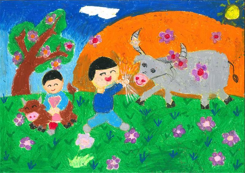 """""""Adorable buffalo"""" by Pham Thai Son"""