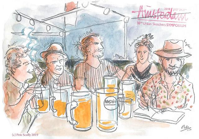 Amstelhoek Drink n Draw sm