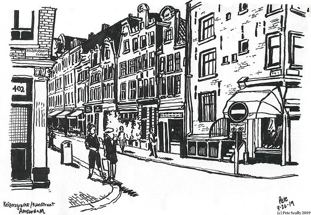 Amsterdam Keizersgracht street sm