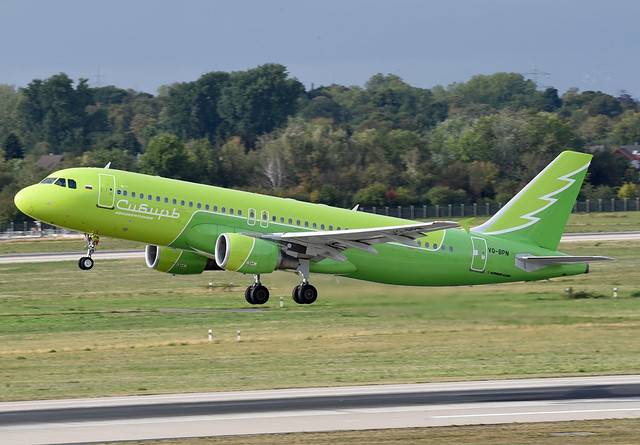 S7 Airlines Airbus A320-214 VQ-BPN Siberian Airlines special livery