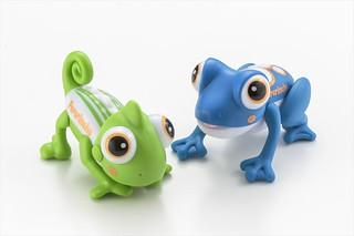 用長舌來收拾零碎小物件!CCP「按下去就吐舌頭」趣味玩具 變色龍與青蛙(プッシュDEぺろりんちょ)
