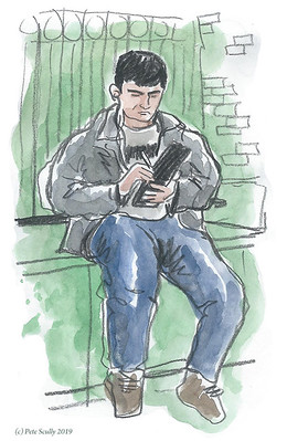 London urban sketcher sebastian sm