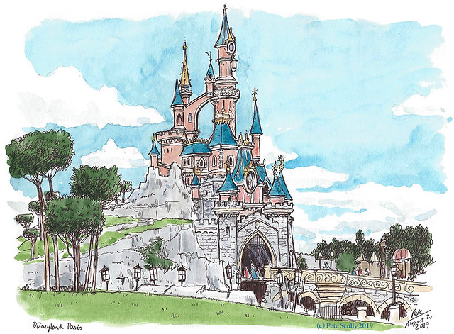 Disneyland Paris Castle sm