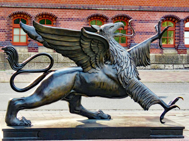 Griffin Mythic Dangerous Beast,  Rostock, Germany