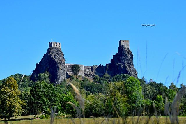 Castle on old lava stones amazing