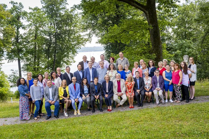 Mitarbeiterinnen und Mitarbeiter der Akademie für Politische Bildung