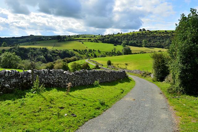 Manifold valley, Derbyshire