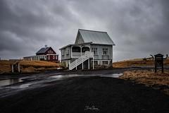 Casas de madera, Islandia