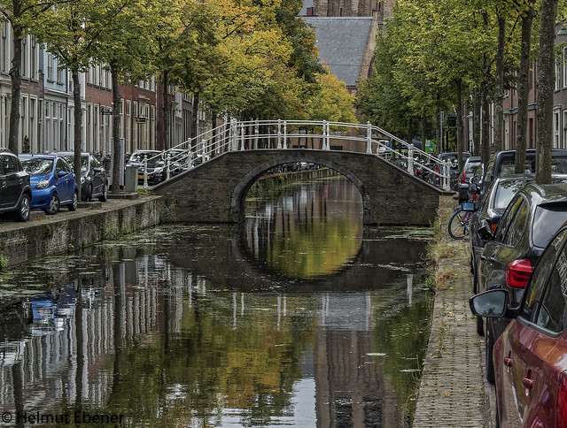 Delft NL, unterwegs in der Stadt