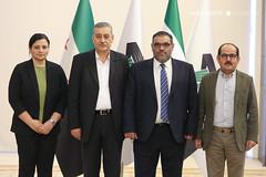 عبد الرحمن مصطفى، أنس العبدة، عبد الباسط عبد اللطيف وديما موسى