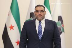 رئيس الائتلاف الوطني أنس العبدة