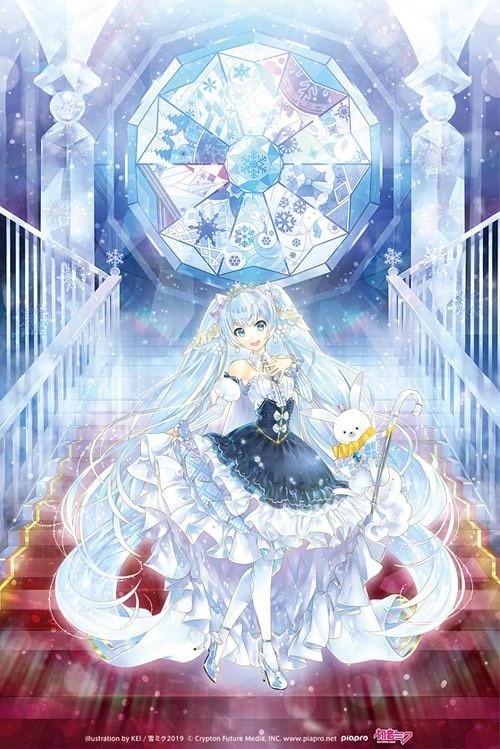 絕美雪公主下凡!雪未來 GOOD SMILE COMPANY 雪ミク Snow Princess Ver. (ゆきみく すのー ぷりんせす Ver.)1/7完成品