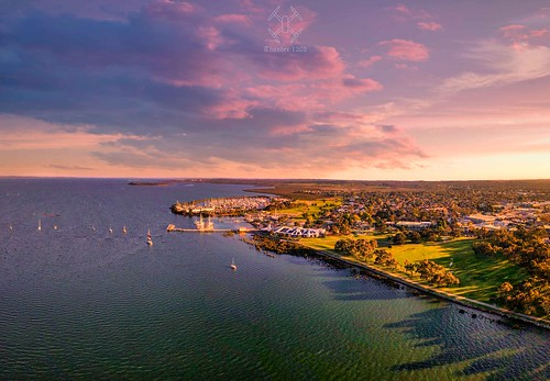 melbourne victoria australia hatings drone photography aerial morningtonpeninsula djimavicpro djiglobal djiaustralia scenery view landscape dronephotography djiphantom4advanced seascape fromabove droneoftheday fomabove hdr