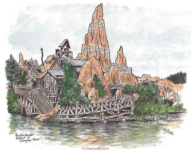 Disneyland Paris Thunder Mountain sm