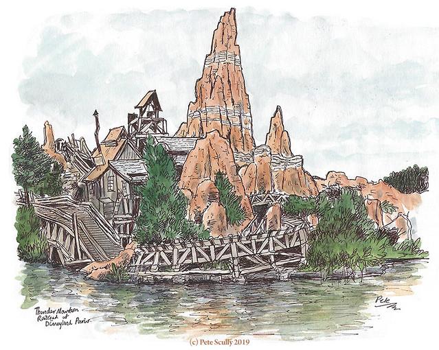Disneyland Paris Thunder Mountain sm