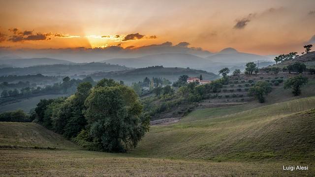 San Severino Marche countryside