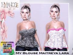 HYPNOSE - MY BLOUSE MAITREYA LARA