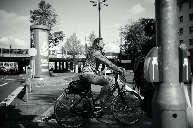 bike rider@Bilk, Düsseldorf