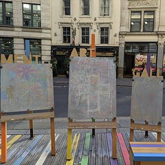 Pavement art gallery