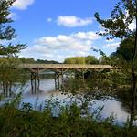 Closed Tram Bridge over the Ribble at Preston