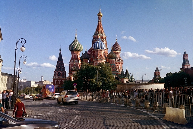 The main Temple of Russia on Red Square.