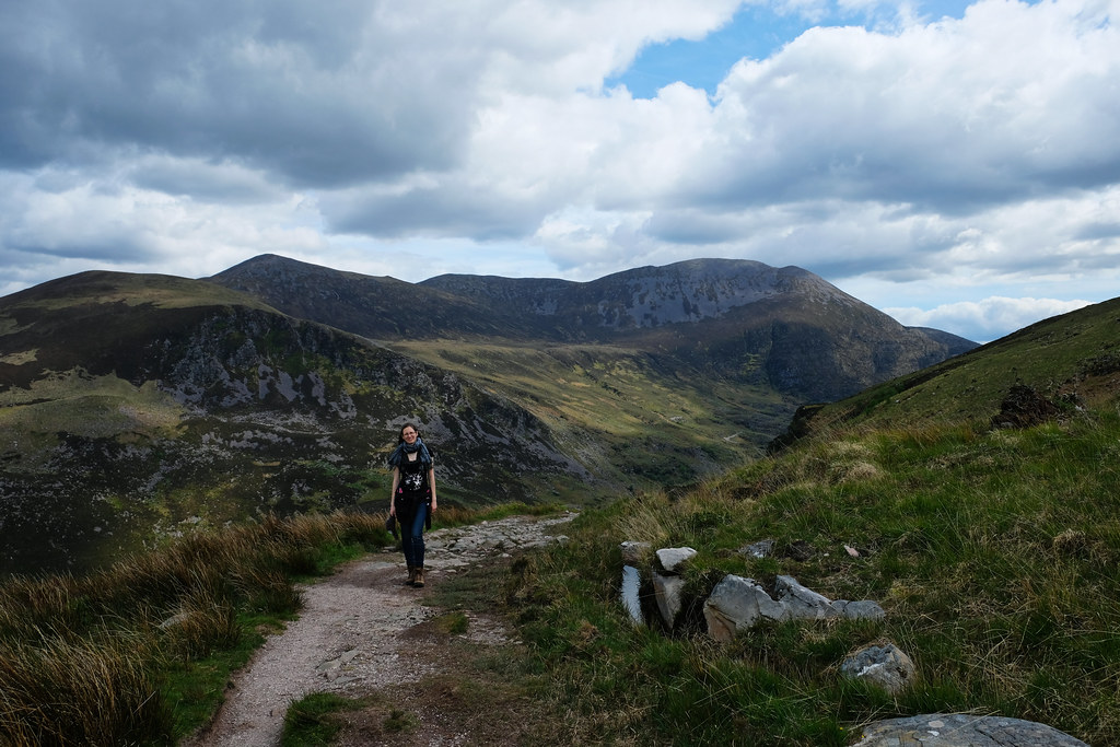Best Travel Moments 2019: Hiking Strickeen peak, Kerry, Ireland