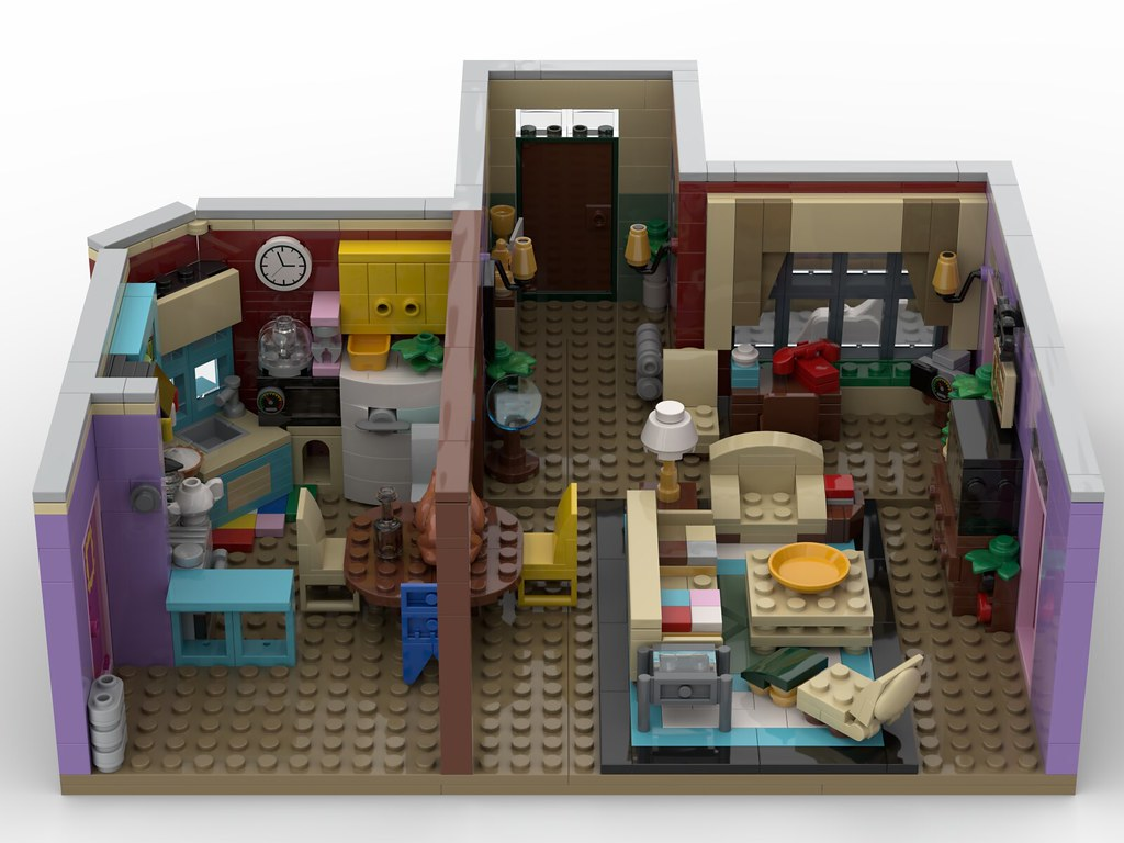 Lego Moc 29532 Friends The Television Series Monica S
