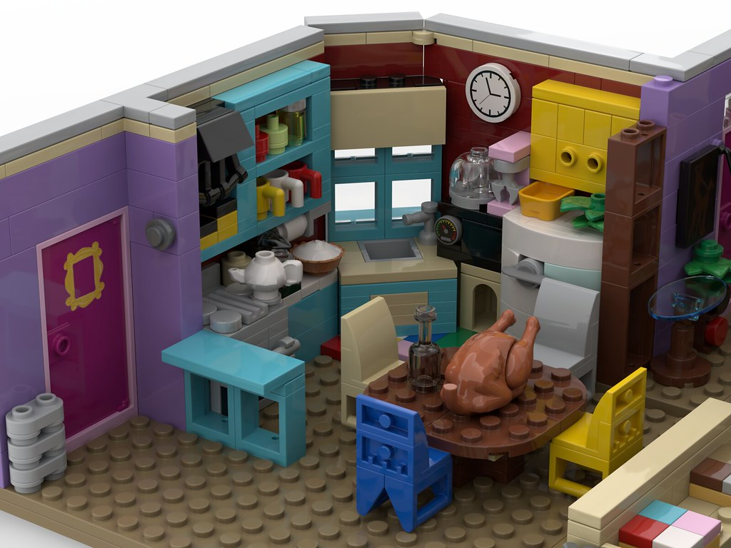 Lego® Custom Instructions Friends ~ The Television Series ...