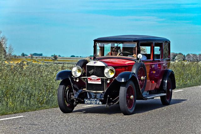 Unic L61 Tourer 1926 (6441)