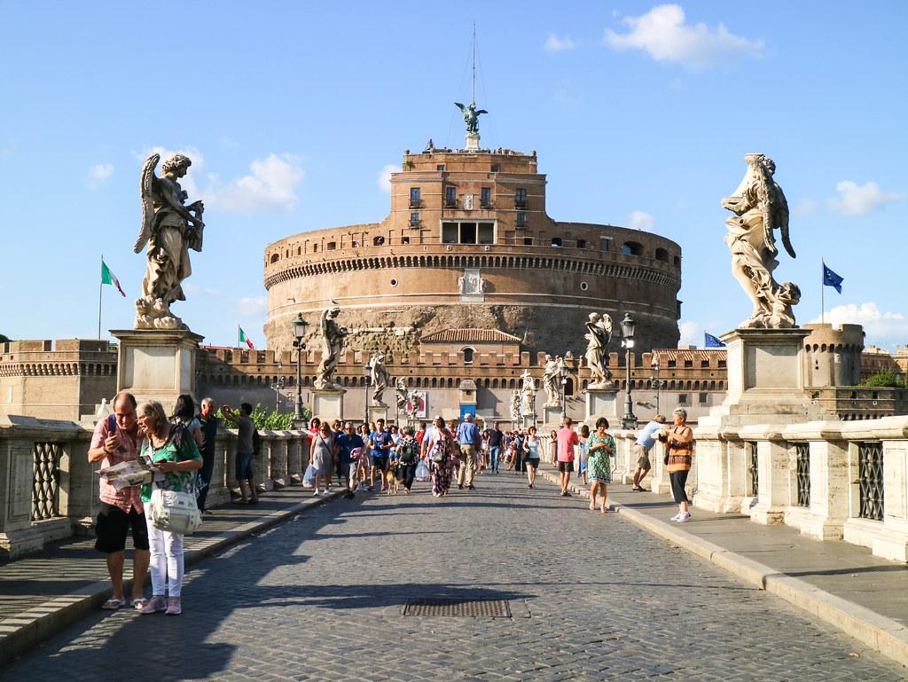 Castel Sant´Angelo en Roma